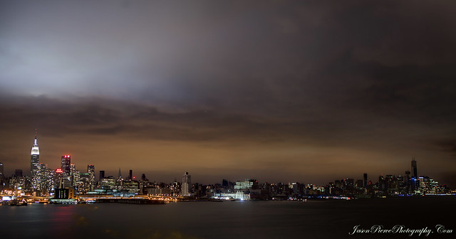Hurricane Sandy brings widespread blackouts to Manhattan..