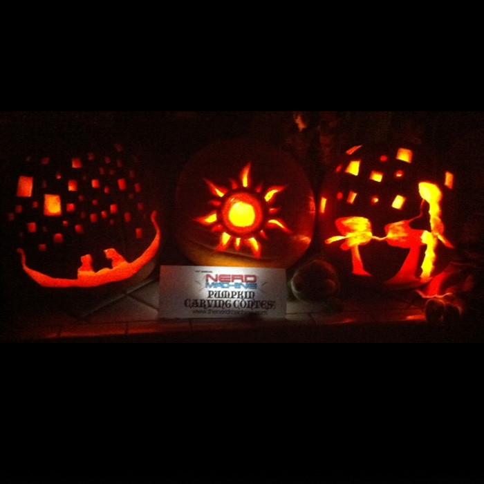 2012 Pumpkin Carving Contest Winners Nerd Hq