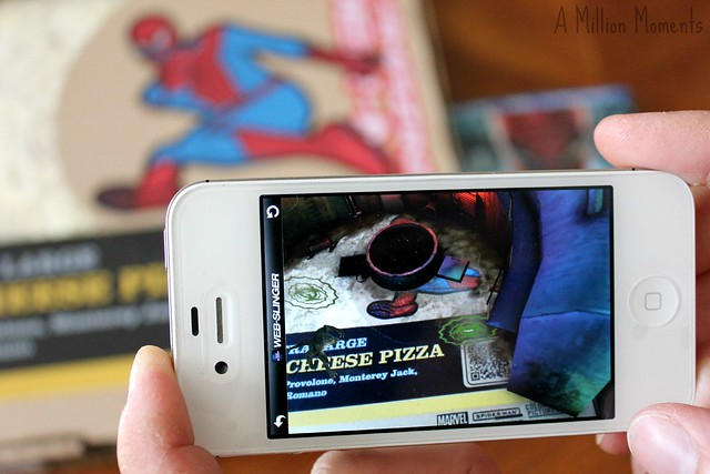 Marketside Pizza AR App