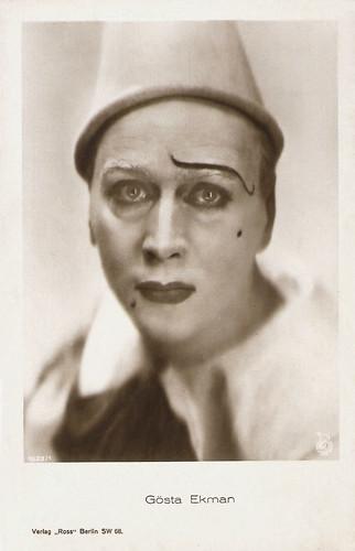 Gösta Ekman in Klovnen (1926)
