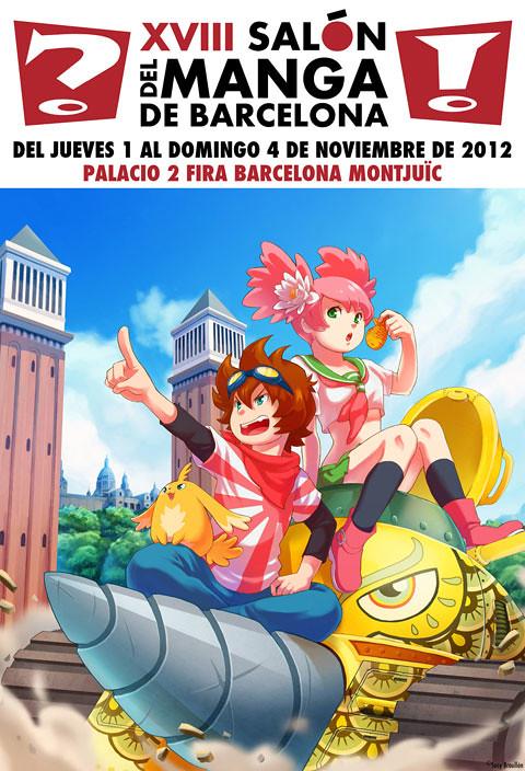 cartel_XVIII_Salón_del_Manga
