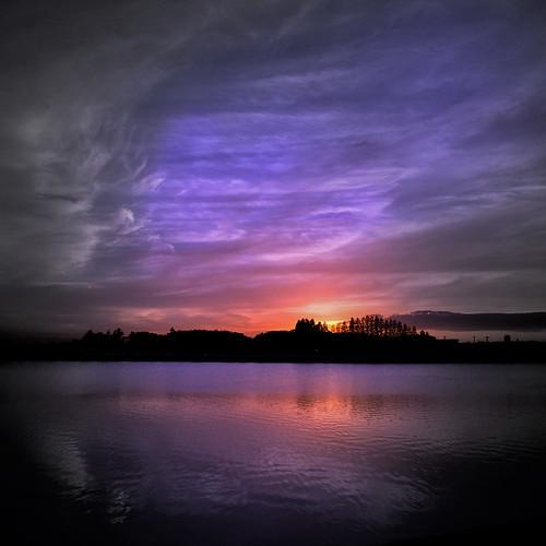sky lake color colour tree face silhouette japan clouds dream saitama kawagoe arbre couleur sunet visage nikond3100 leveloindigo gettyimagesjapan12q4 isanumalake