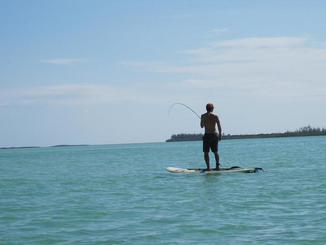 paddle board bonefishing