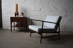 Arresting Selig Danish Mid Century Modern Teak Lounge Chair (Denmark, 1960's)