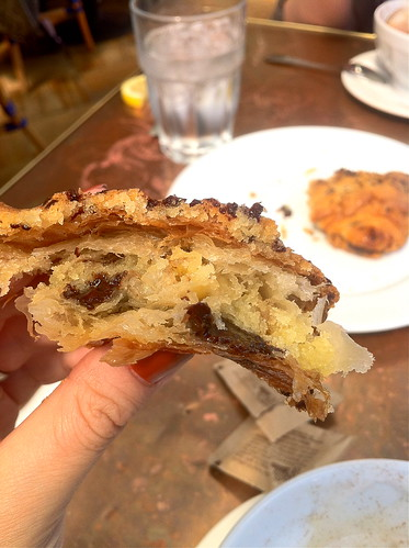 Off the hook chocolate - almond croissant