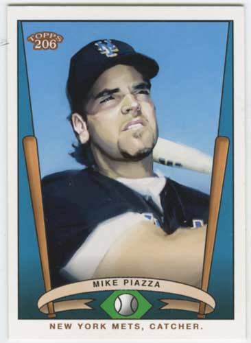 2002 Topps 206 Team 206 Mike Piazza