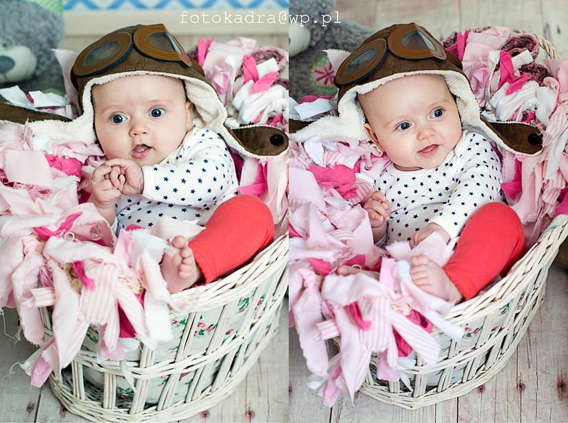 Laura - zdjęcia niemowlaków Grudziądz