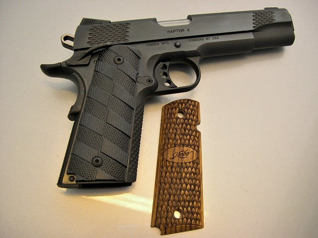 So whos seen Kimbers new 1911s? - 1911 Forum
