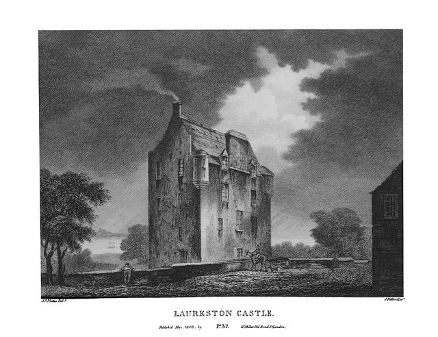 etching: Lauriston Castle