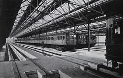 Interior of Neasden depot