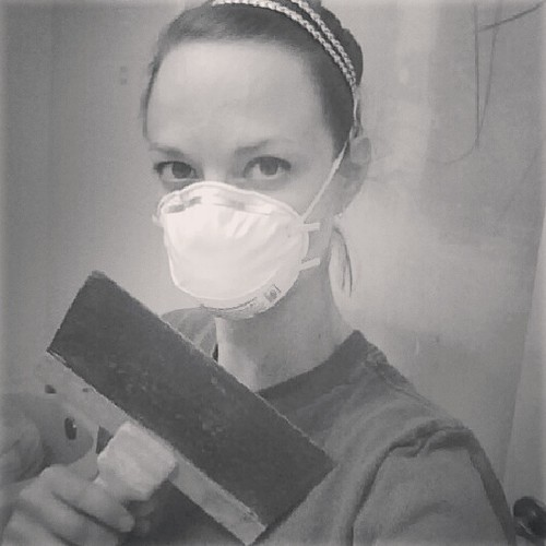 Learning to skip-trowel my bathroom