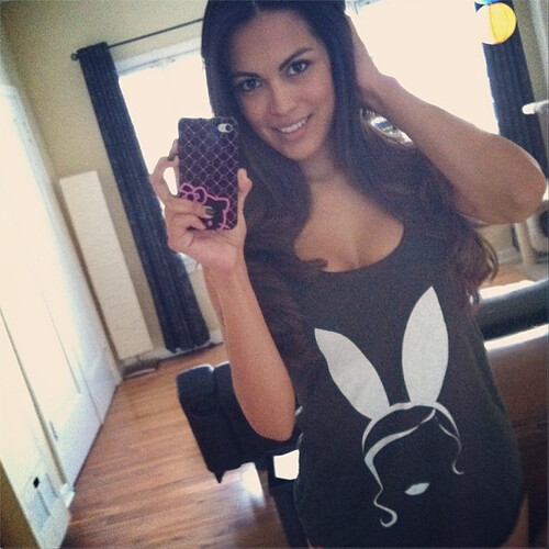 Raquel Pomplun Playboy Cover Girl In Playboy Apparel By Sportiqe