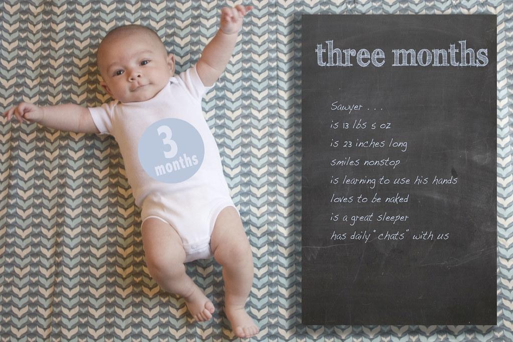 Sawyer 3 months