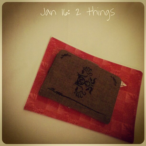 Jan 16: two things .. #fmsphotoaday
