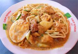Mie Kacang khas Selat Panjang Riau @ Denpasar - Bali [http://esdelima.blogspot.com]