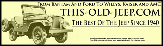 This site is for all of the lovers of the rusty, shiny, stock, modified, show queens, daily drivers, rust buckets or museum pieces as long as it is an old jeep! From history, technical info, restoration or just plain curiosity, if its an old jeep, this is the site for you!