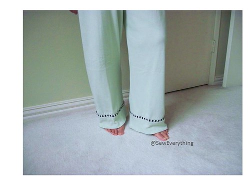 Pajama Pant Sew Along via thesewingloftblog.com