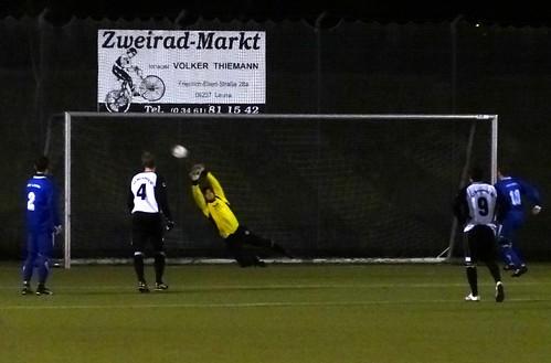 DSC03238 : Nino converts a penalty kick; 3-2!