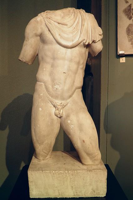 Statue of Hermes, 1st-2nd century AD, Civico museo archeologico di Milano