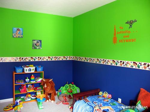 Toy Story Room Decor And Paint Ideas Home Jobs By Mom
