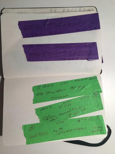 5x4 film-holder tapes