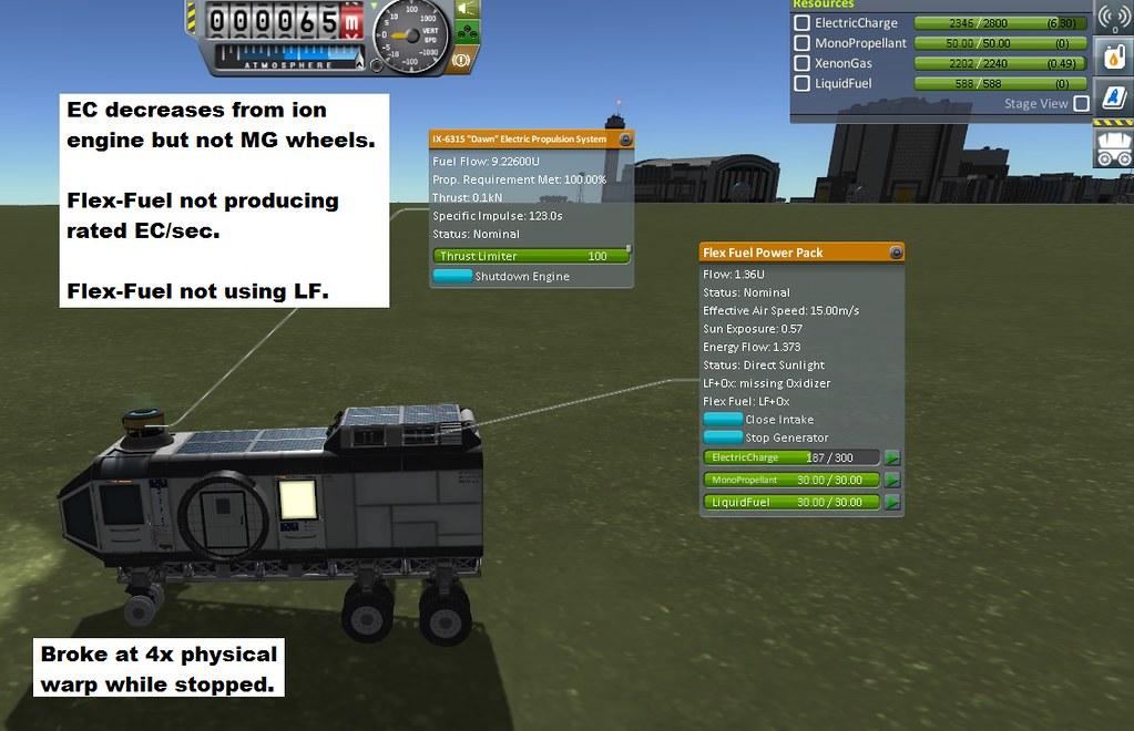 341-04 Flex-Fuel Output Too Low