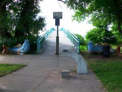 Sharrott Avenue Pier, Lemon Creek Park.