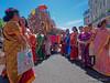 Procession de la déesse Sri- Kalikaambai en compagnie du dieu Murugan