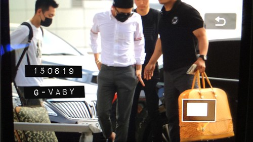 Big Bang - Incheon Airport - 19jun2015 - G_Vaby - 01