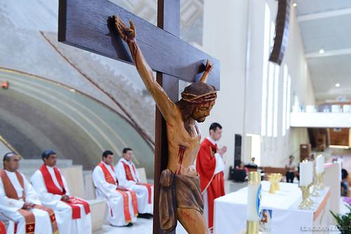 Padre Márcio José celebra Missa Solene da Festa da Exaltação da Santa Cruz