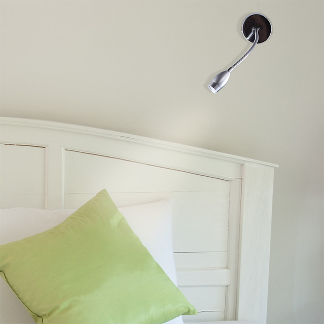 Fabio 3 Watt unswitched wall mounted LED reading light Flickr - Photo Sharing!
