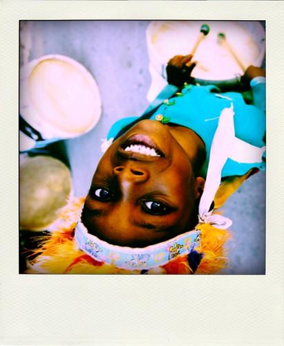 sorriso do tambor
