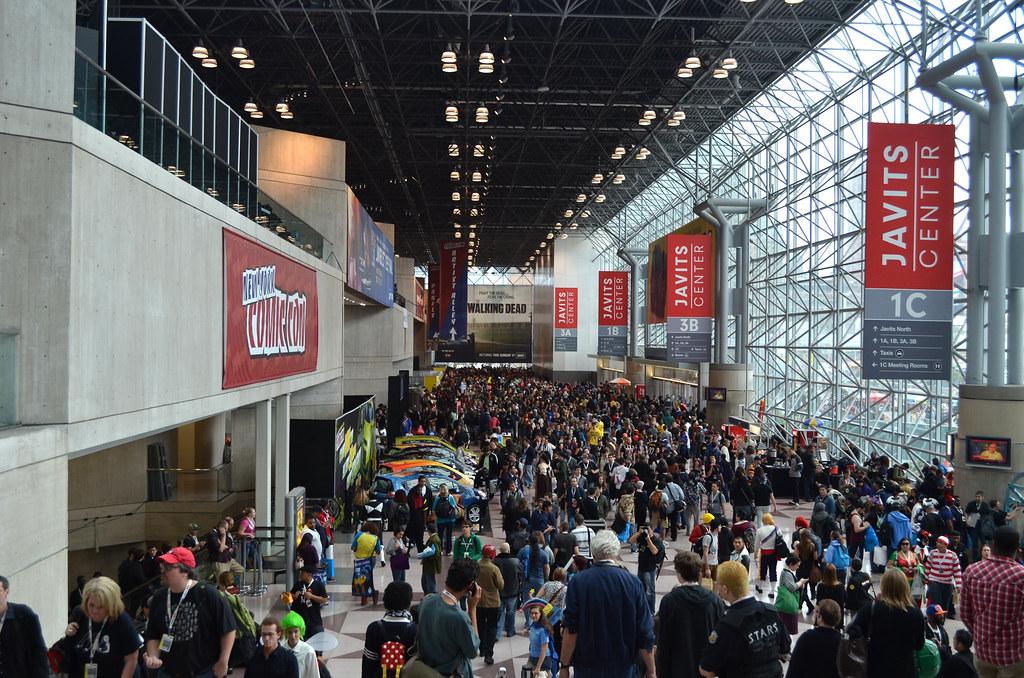 New York Comic Con 2012 Friday