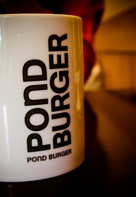 台北 信義–沒有服務費的漢堡店–pond burger