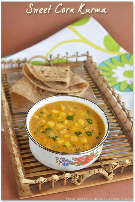 Sweet Corn Kurma