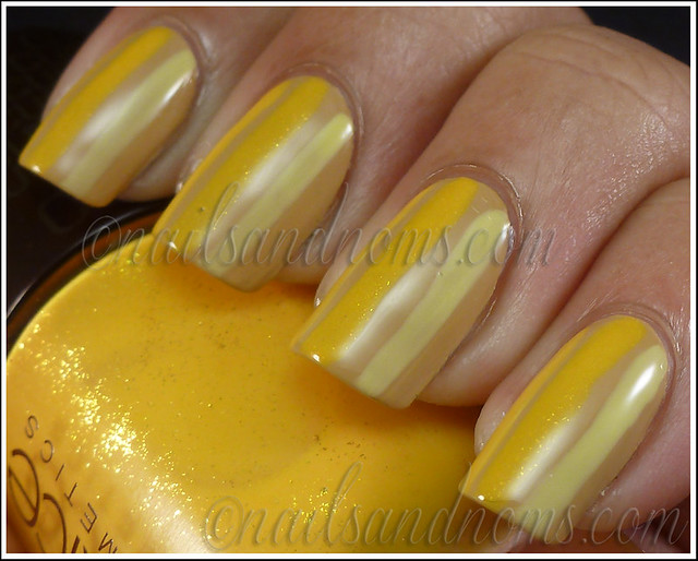 Day 3 Yellow Nails - 10