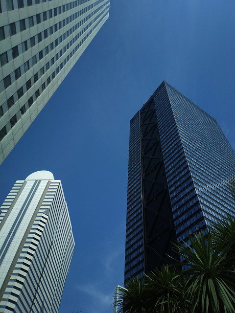 3 Skyscrapers at Shinjuku