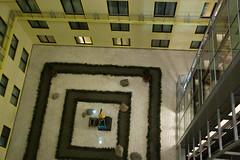 Atrium dans le Ritz Carlton Hotel