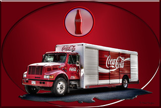 0057 Coco-Cola Advertisment Truck