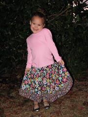 Delani's Corduroy Skirt 2