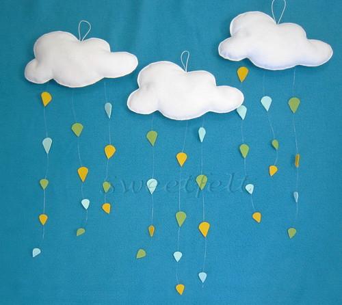 ♥♥♥ Na Sweetfelt só chove chuva colorida... by sweetfelt \ ideias em feltro