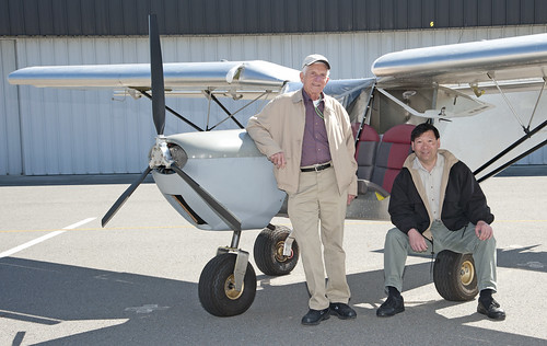 Faculty build small plane