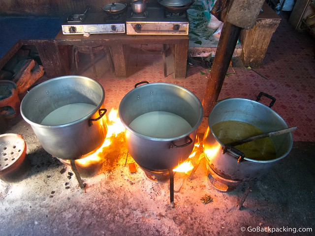 Cooking up coconut milk