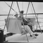 Calvin Coolidge at sea