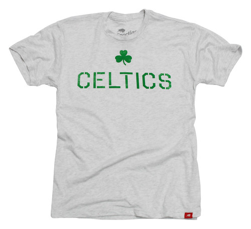Boston Celtics Ship T Shirt By Sportiqe
