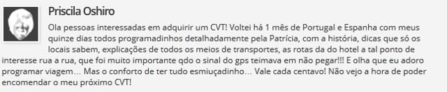 comentario CVT