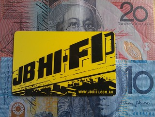 AU cash and JB card