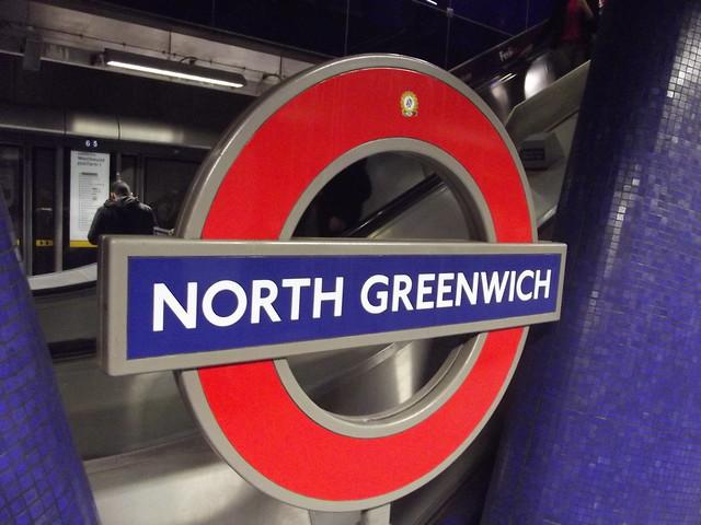 north greenwich underground station flickr photo sharing. Black Bedroom Furniture Sets. Home Design Ideas