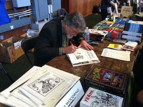 Jim Woodring at APE 2012