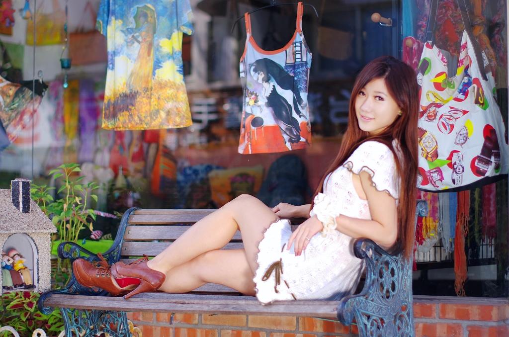 韓玲藝術街外拍